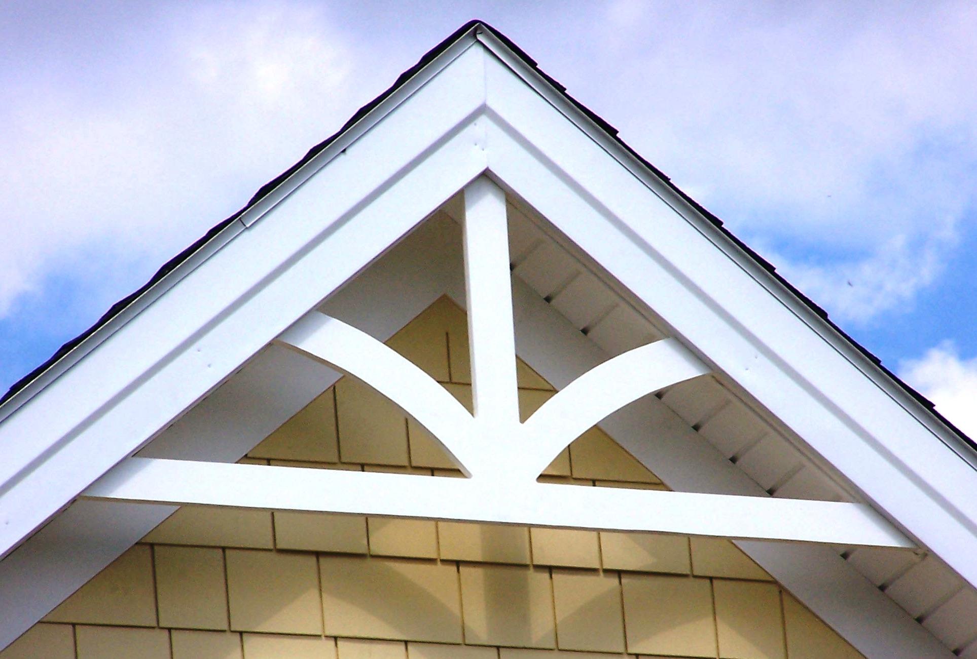 Decorative gable pediments bing images for Fypon gable pediments
