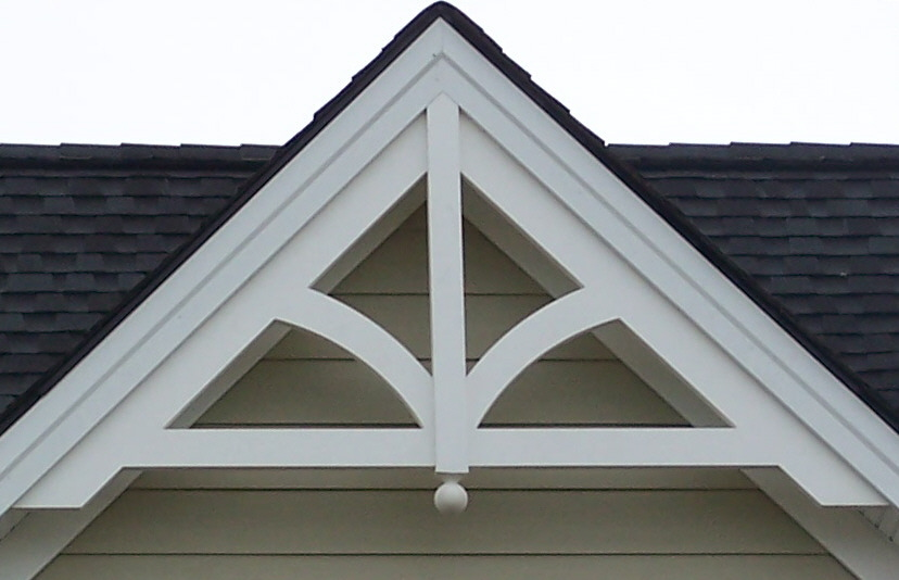 Gable pediment 201 river valley custom millwork - Decorative exterior door pediments ...